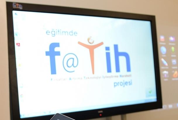 FATİH Projesi'nin altyapı ihalesi yapıldı