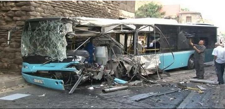 Fatih'te Otobüs Kazası: 20 kişi Yaralandı