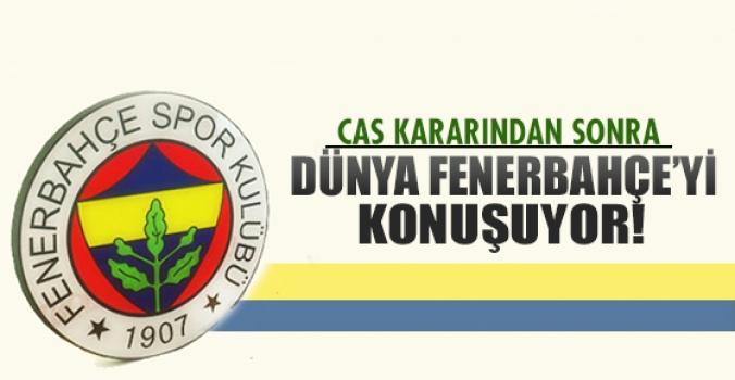 Fenerbahçe dünya futbol gündemine damgasını vurdu!