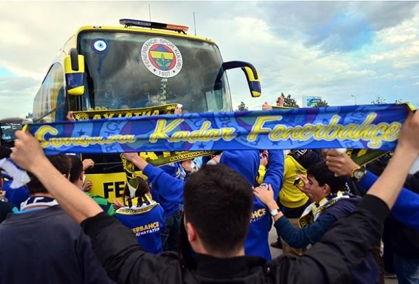 Fenerbahçe Eskişehir'e gitti