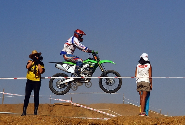 Fethiye'de motokros heyecanı
