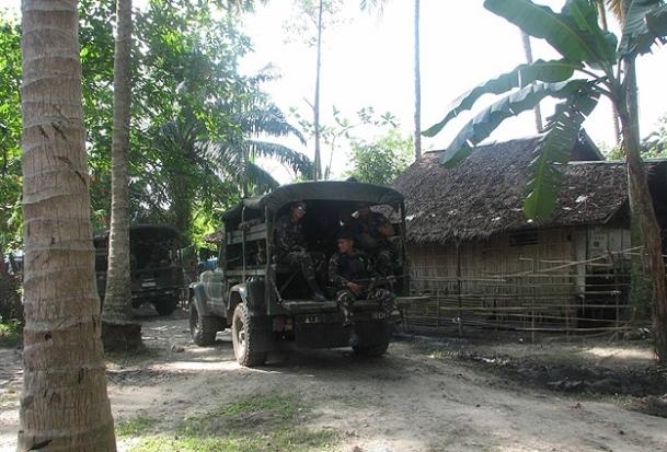 Filipinler'de gruplar çatıştı
