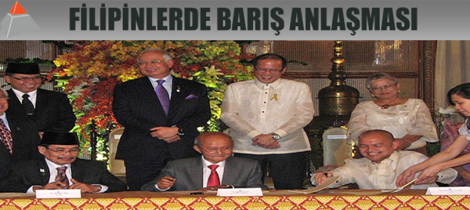 Filipinler'de tarihi anlaşma
