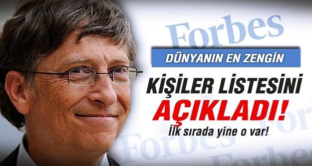 Forbes en zengin kişiler listesini açıkladı