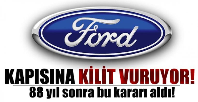 """Ford'un """"Avustralya kararı"""" Türkleri üzdü"""