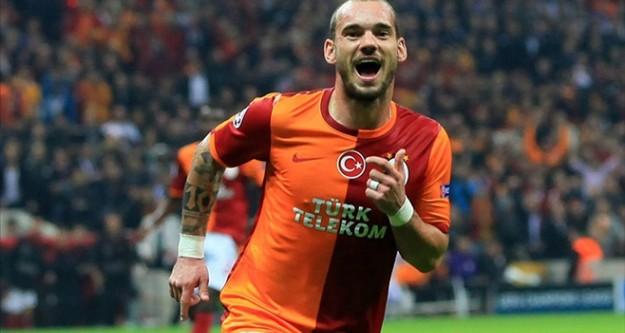 Galatasaray'da Chedjou ve Sneijder yok