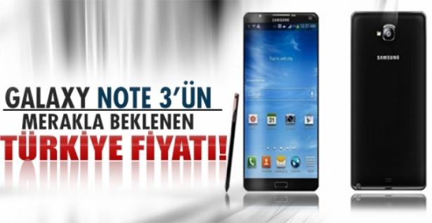 Galaxy Note 3'ün merak edilen Türkiye satış fiyatı!
