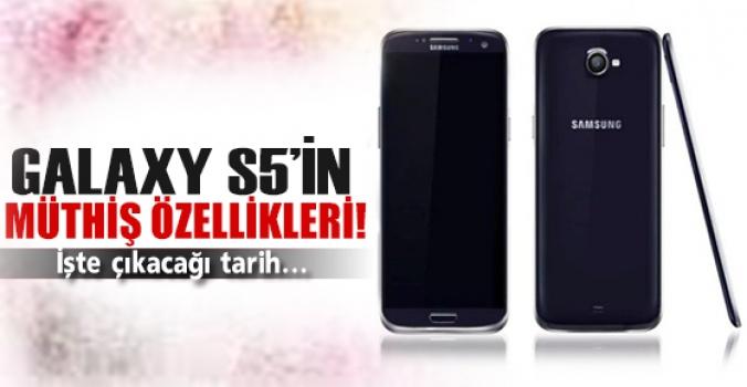 Galaxy S5'in inanılmaz özellikleri..