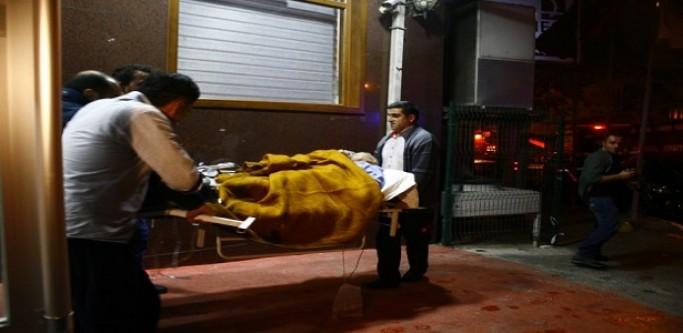 Gaziosmanpaşa'da Hastanede Yangın...
