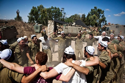 Gazze'de katlimam, İsrail'de dans!