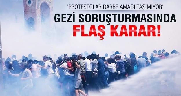 Gezi Parkı soruşturmasında flaş karar