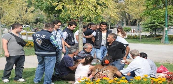 Gezi Parkı'nda Huzur Uygulaması
