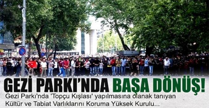 Gezi Parkı'nda inşaat için yürütmeyi durdurma kararı kaldırıldı