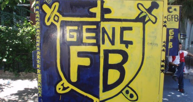 GFB, Aziz Yıldırım'ı Topa Tuttu