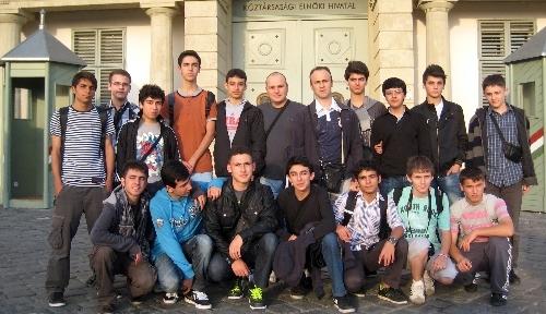 Giresunlu eğitimciler Macaristan'da proje toplantısına katıldı