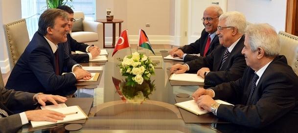 Gül ve Abbas Tarabya Köşkü'nde görüştü