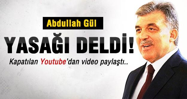 Gül YouTube'de video paylaştı!