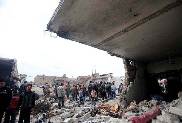 Halep'e Scud füzesi düştü
