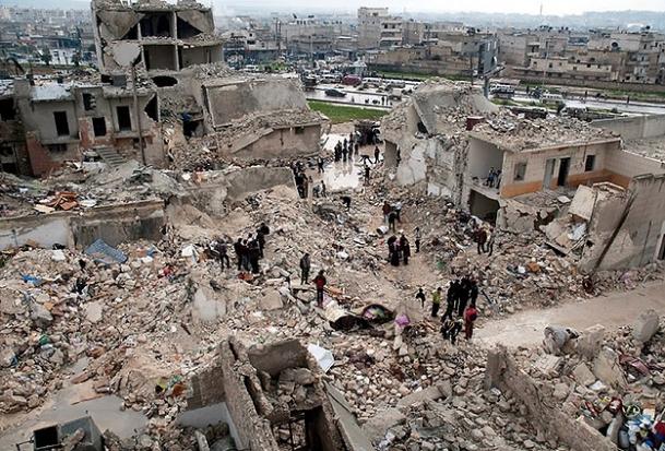 Halep'e Scud saldırısı