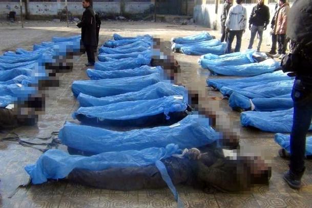 Halep'te 72 kişi idam edildi