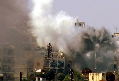 Halep'te vakum bombalı saldırı 25 ölü!