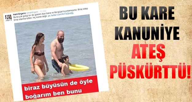 Halit Ergenç'i kızdıran kare!