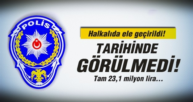 Halkalı'da 23,1 milyon liralık kaçak eşya ele geçirildi