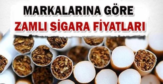 Hangi Sigara Ne kadar Oldu? İşte Tam Fiyat Listesi