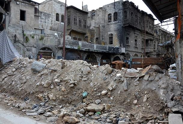 Harabe kent: Halep