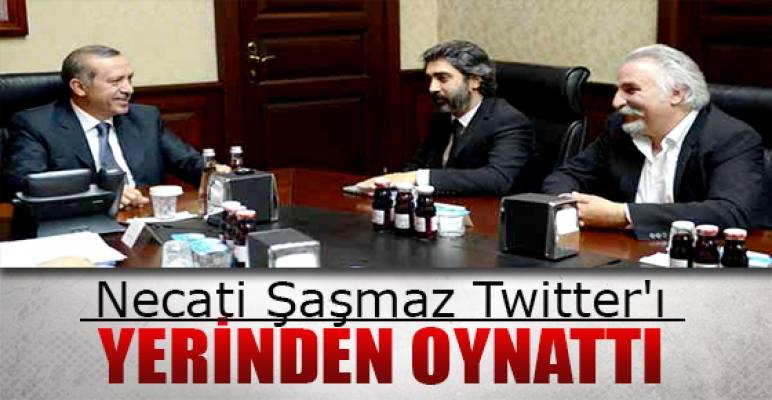 Hasan Kaçan ve Necati Şaşmaz Twitter'ı salladı