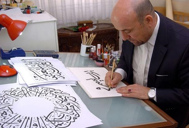 Hat sanatının merkezi Türkiye