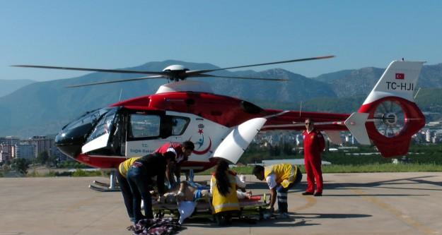 Hava ambulansları 20 binden fazla can için uçtu