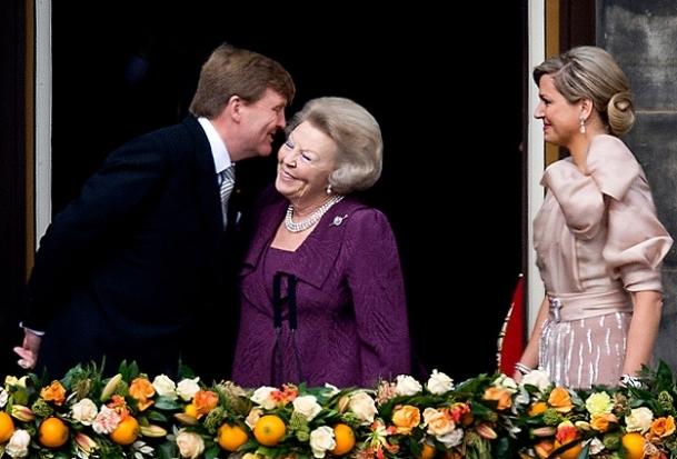 Hollanda tahtında 123 yıl sonra bir kral