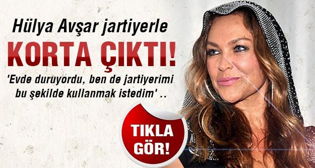 Hülya Avşar turnuvada yine şov yaptı!