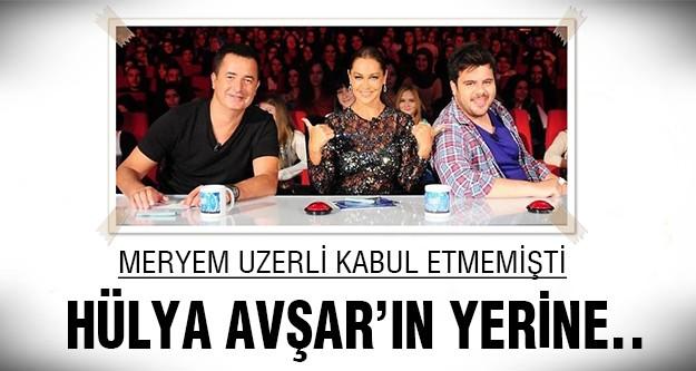 Hülya Avşar'dan boşalan koltuğa o oturacak!