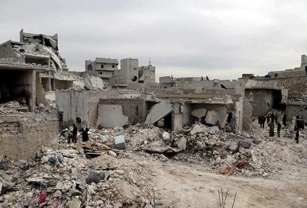 İdlib'e top ateşi: 105 ölü