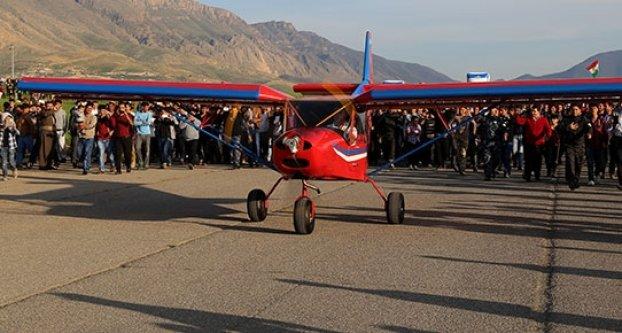 İlk Kürt uçağı!