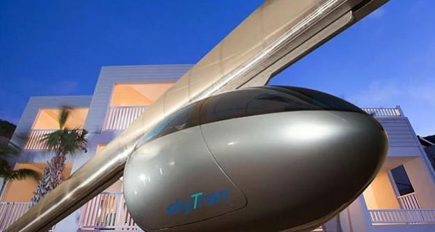 İlk uçan araba sistemi kuruluyor!