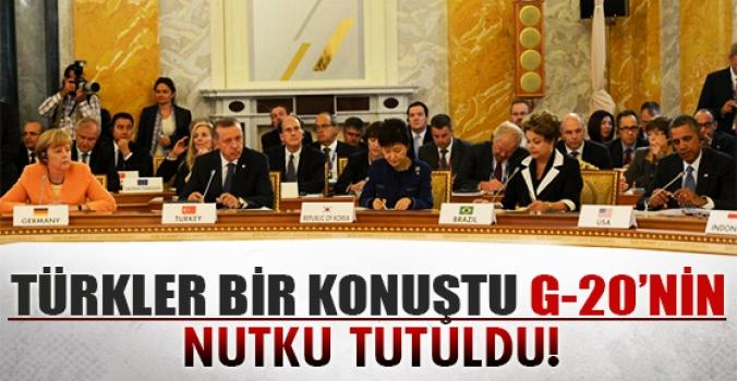 İngiliz Bakan anlattı...Türkler konuştu G20'nin nutku tutuldu