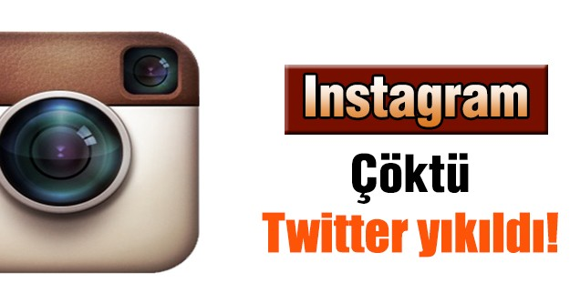 Instagram çöktü Twitter yıkıldı!