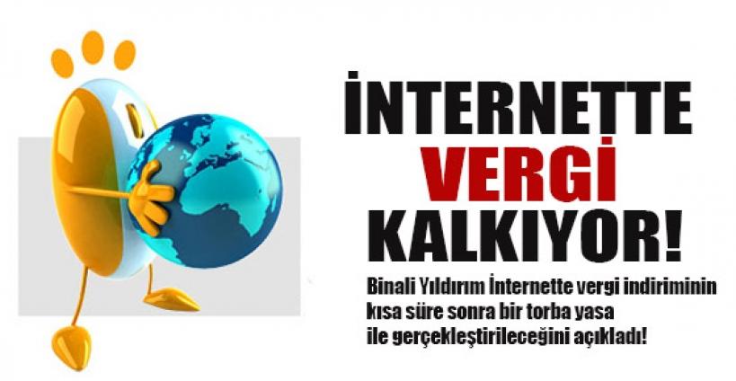 İnternette vergi indirimi müjdesi