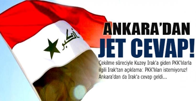 Irak'a Ankara cevap verdi!