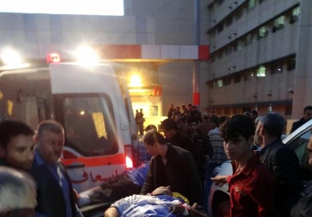 Iraklı yaralılar Ankara'ya getiriliyor