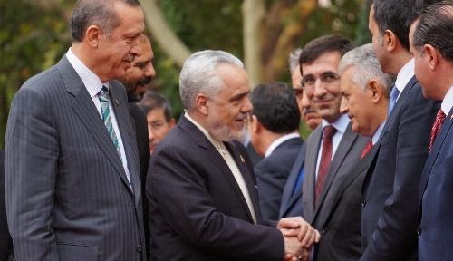 İran Cumhurbaşkanı Yardımcısı Rahimi, Başbakanlık'ta resmi törenle karşılandı