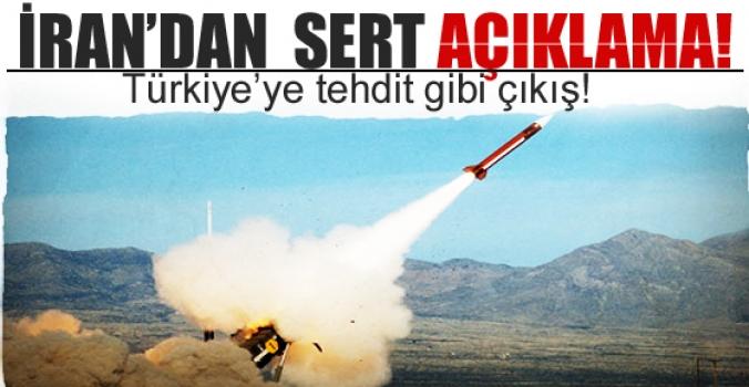 İran'dan Türkiye'ye tehdit gibi çıkış!