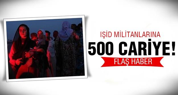 IŞİD, Irak'ta öldürdüğü 500 Yezidi'nin 500 kadınını..