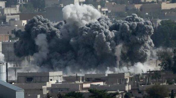 IŞİD Kobani'yi kalbinden vurdu!