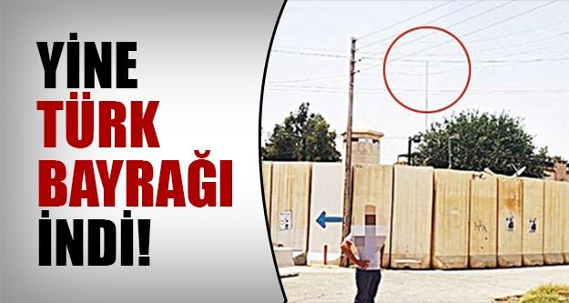 IŞİD Türk bayrağını indirdi!