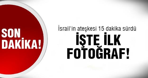 İsrail ateşkes ilan edip vurdu!