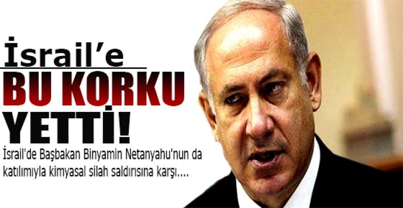 İsrail, kimyasal gaz tatbikatı yaptı!